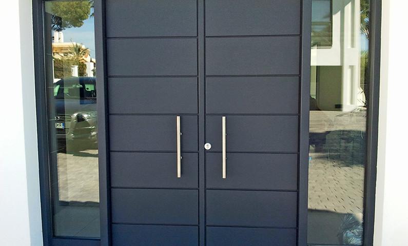 Puerta De Exterior E Interior Carpinteria Ebanisteria