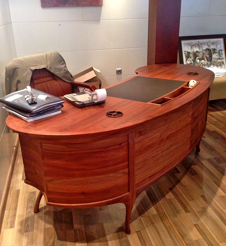 Mueble de oficina a medida carpinteria ebanisteria mariano montescarpinteria ebanisteria - Muebles mariano ...